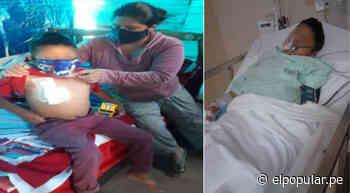 Ancón: Madre de niño con tumor maligno solicita ayuda para darle calidad de vida - ElPopular.pe