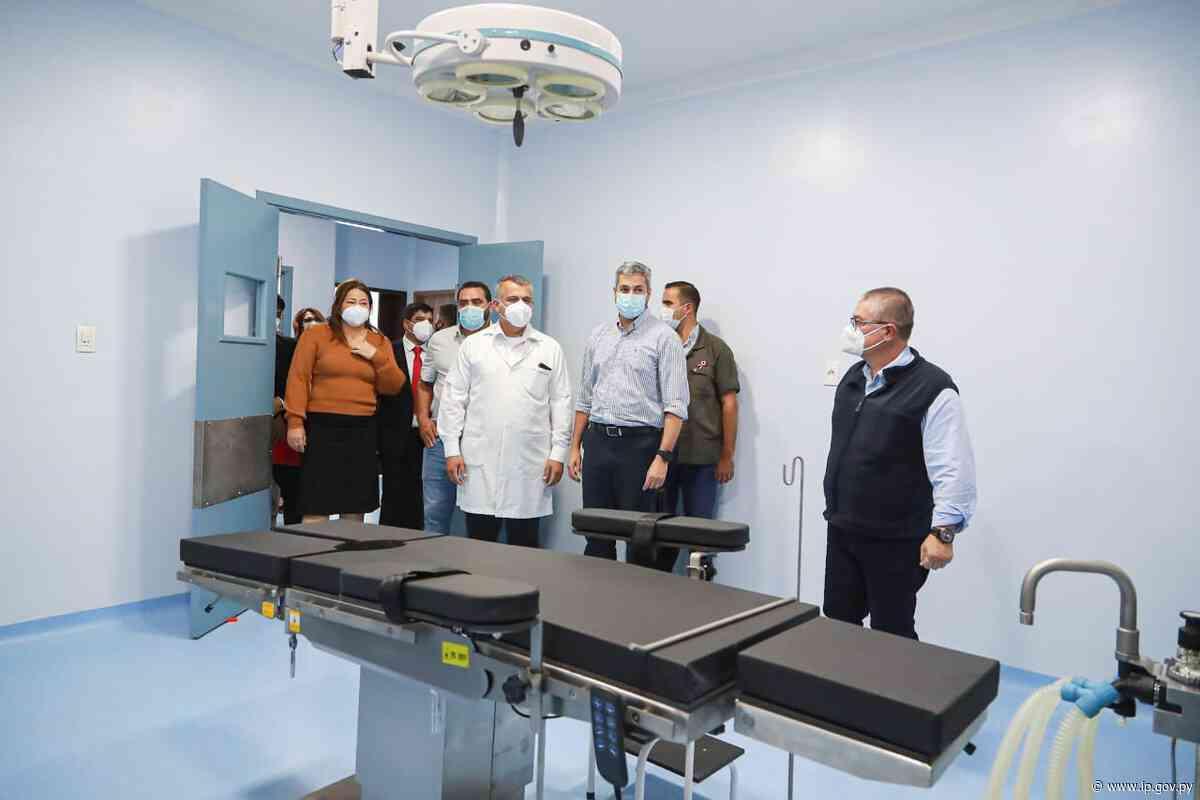 Hospital de Salto del Guairá tiene nuevo pabellón de trauma para el beneficio de 200.000 pacientes | - ip.gov.py