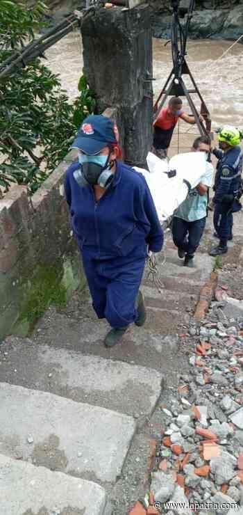 Identificaron cuerpo hallado en el río Cauca, cerca de Marmato - La Patria.com