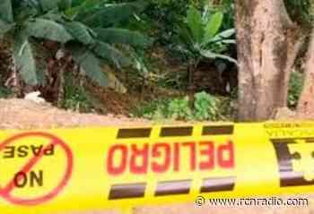 Dos muertos, entre ellos una menor de 15 años, dejó un ataque armado en Betulia, Antioquia - RCN Radio
