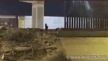 VIDEO: ¡No te vayas! grita desesperado niño abandonado en la frontera - La Noticia - La Noticia