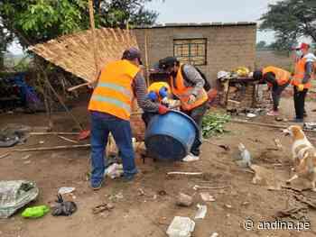 Desalojan a invasores de zona arqueológica en la provincia liberteña de Virú - Agencia Andina