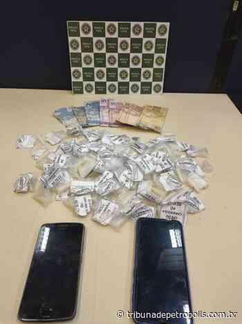 Homem é preso por tráfico de drogas no Sertão do Carangola   Tribuna de Petrópolis - Tribuna de Petrópolis