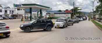En Pitalito esperan, sin certeza, a que llegue combustible - Diario del Huila