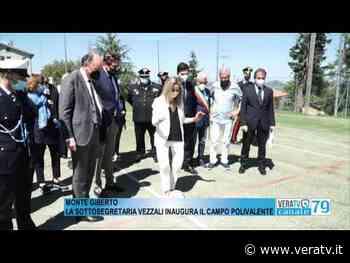 Monte Giberto - La sottosegretaria Vezzali inaugura il campo polivalente - Vera TV