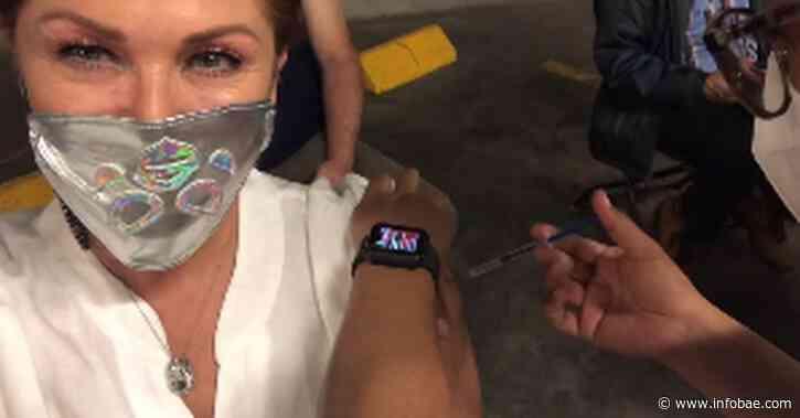 Con tanque de oxígeno, taquicardia y náuseas: Leticia Calderón sufrió los estragos de la vacuna contra COVID-19 - infobae