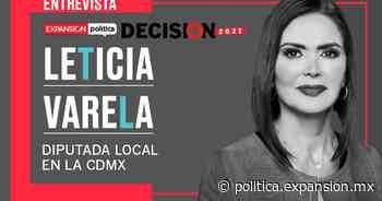 """Leticia Varela: """"La reelección es la calificación de tu trabajo"""" - Expansión Política"""
