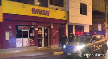 PNP frustró el robo a una tienda Tambo en Independencia [VIDEO] - ElPopular.pe
