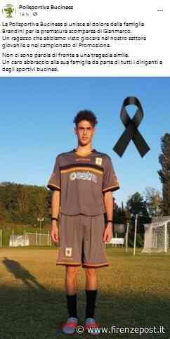 Terranuova Bracciolini: muore giovane 21enne, calciatore dilettante, nello scontro della sua auto - Firenze Post