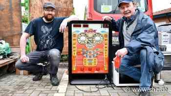 Daddelautomaten gefunden: Schrottbörse wird in Holm zur Tauschbörse | shz.de - shz.de