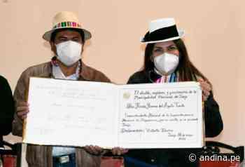 Huancayo: superintendente de Migraciones pone en marcha nueva jefatura zonal - Agencia Andina