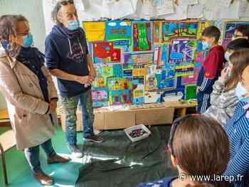 Les écoliers ont travaillé avec Loran Guillot - La République du Centre