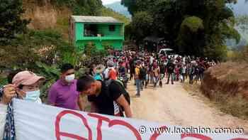 Campamento humanitario en Hacarí completa hoy una semana | Noticias de Norte de Santander, Colombia y el mundo - La Opinión Cúcuta