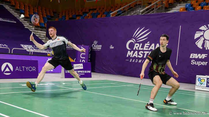 Austrian Open: Hess/Pistorius erreichten Halbfinale