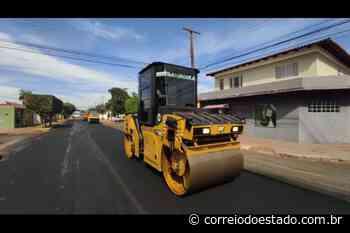 Obras de recapeamento iniciam no Santo Amaro na Capital - Correio do Estado