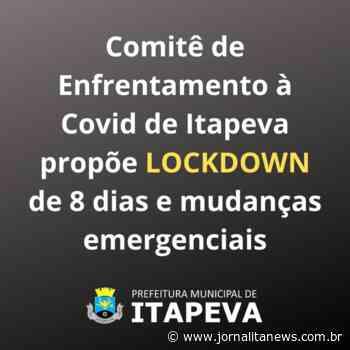 Comitê de Enfrentamento à Covid de Itapeva propõe lockdown de 8 dias e mudanças emergenciais - Jornal Ita News