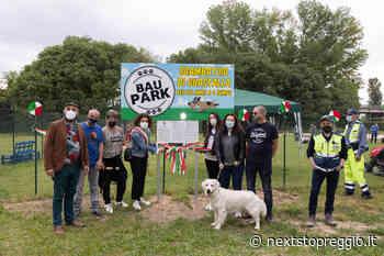 """Inaugurato a Guastalla """"Bau Park"""", un attrezzato campo per cani in via Castagnoli - Next Stop Reggio"""