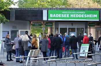 Begehrte Schließfächer: Die ersten stellen sich um 3.45 Uhr am Badesee Heddesheim an - Heddesheim - Nachrichten und Informationen - Mannheimer Morgen