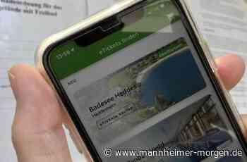 Am Samstag ab acht gibt's Schließfächer am Badesee Heddesheim - Mannheimer Morgen