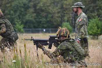 Scottish Regiment back training at Courtenay's Seal Bay – Comox Valley Record - Comox Valley Record