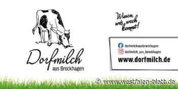 Dorfmilch aus Brockhagen - Westfalen-Blatt