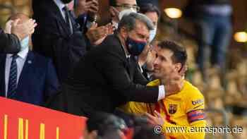 Lionel Messi: Bleibt der Superstar bei Barca? Präsident Joan Laporta gibt sich optimistisch - Eurosport DE