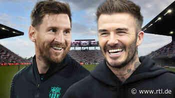 Wechselt Lionel Messi zu David Beckhams Club Inter Miami? - RTL Online