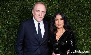 Salma Hayek celebrates husband Francois-Henri Pinault's birthday with rare photo - HOLA USA