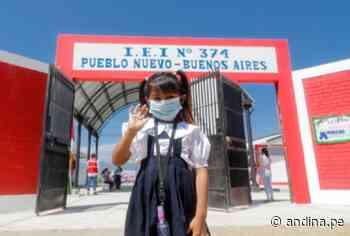 Piura: ARCC inaugura colegios y vías vecinales en Morropón por más de S/ 7 millones - Agencia Andina