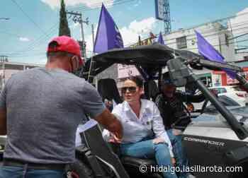 Cierra Sharon Montiel con caravana en Tizayuca y en Los Ángeles - La Silla Rota