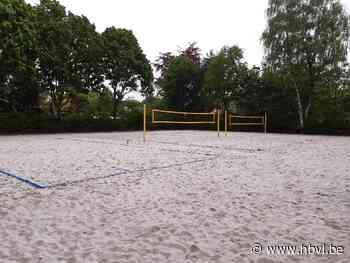 Beachsport aan sporthal De Koekoek - Het Belang van Limburg