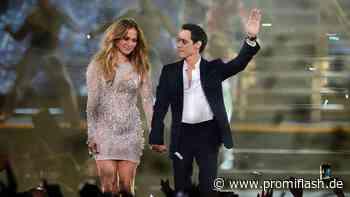 Nicht Ben: J.Lo zusammen mit Ex-Mann Marc Anthony gesichtet - Promiflash.de