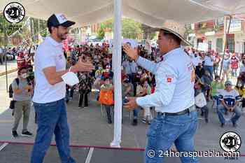 Respalda Antonio López a Carlos Herrera en su cierre de campaña - 24 Horas El Diario Sin Límites Puebla