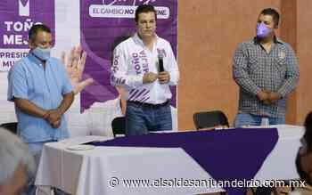 Va Mejía por reactivar economía en Tequisquiapan - El Sol de San Juan del Río