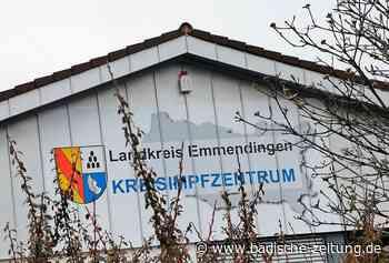 In Kenzingen wurden jetzt mehr als 50.000 Menschen geimpft - Kreis Emmendingen - Badische Zeitung