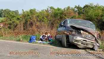 6 lesionados deja choque entre camioneta y taxi, en Cosamaloapan - alcalorpolitico