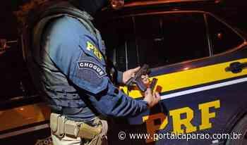 PRF apreende armas durante fiscalização em Ibatiba - Portal Caparaó