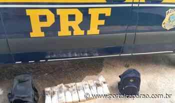 PRF apreende 10 quilos de maconha em ônibus em Ibatiba - Portal Caparaó
