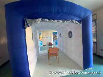 CIRIE' - Alla casa di riposo una «stanza degli abbracci» gonfiabile donata dal sindacato - QC QuotidianoCanavese