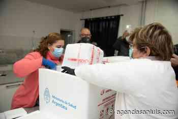 Llegaron este sábado a Villa Mercedes 5.100 dosis de la vacuna Sputnik V - Agencia de Noticias San Luis