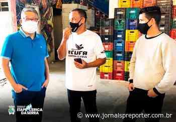SP Itapecerica da Serra: Prefeito Nakano visita ONG em São Paulo - Jornal SP Repórter News