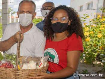 Em Poço Redondo, Belivaldo autoriza pavimentação de ruas e entrega Centro Social em assentamento - Defesa - Agência de Notícias