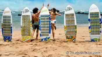 Artistas salvadoreños junto a Golden crean las primeras tablas de surf a base de latas | Noticias de El Salvador - elsalvador.com