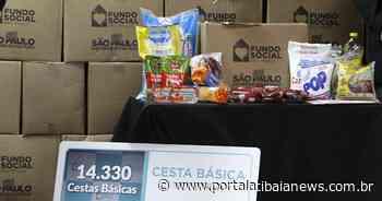 Atibaia recebe 800 cestas básicas do Governo do Estado de São Paulo - Redação do Portal Atibaia News