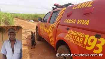 Morador de Ivinhema é encontrado morto em canavial - Nova News - Nova News