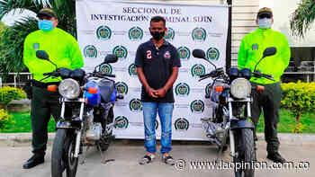 Lo capturaron en Villa del Rosario por participar en el robo de dos motos | Noticias de Norte de Santander, Colombia y el mundo - La Opinión Cúcuta