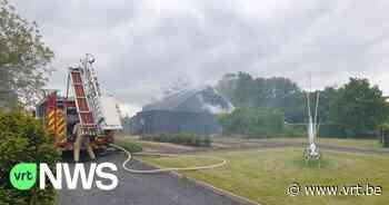 Brand in bijgebouw van kasteel in Geetbets - VRT NWS