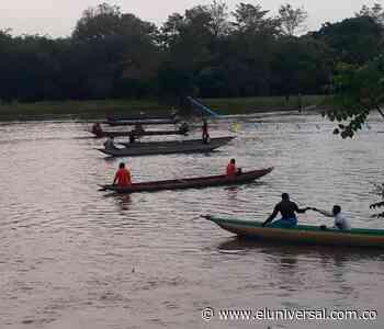 Campesinos en Mahates bloquean el Canal del Dique - El Universal - Colombia
