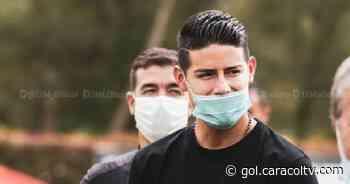 James Rodríguez, siempre relacionado al fútbol: visitó la sede de Independiente Medellín - Gol Caracol