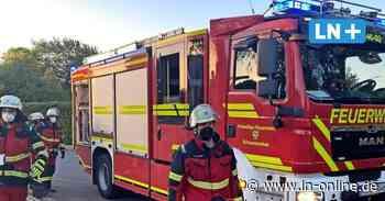 Schwarzenbek: Feuerwehr verhindert Austritt von Heizöl in überflutetem Keller - Lübecker Nachrichten